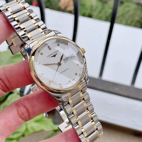LONGINES MASTER COLLECTION L2.755.5.77.7 - NAM - KÍNH SAPPHIRE - AUTOMATIC - 38.5MM - VÀNG 18K