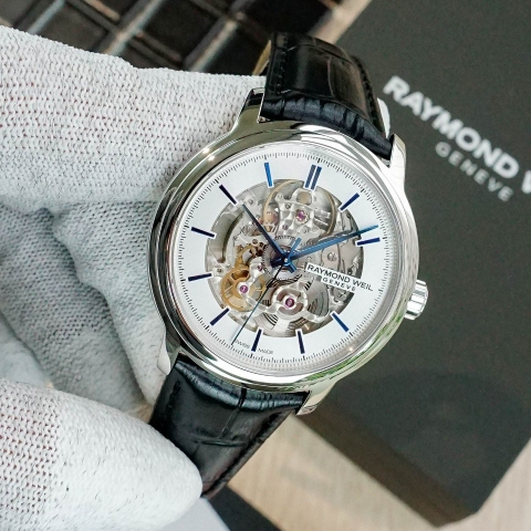 RAYMOND WEIL 2215-STC-65001 MAESTRO AUTOMATIC SKELETON - NAM - AUTOMATIC - 39MM