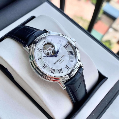 RAYMOND WEIL MAESTRO 2827-STC-00659 - NAM - KÍNH SAPPHIRE - AUTOMATIC - 39.5MM