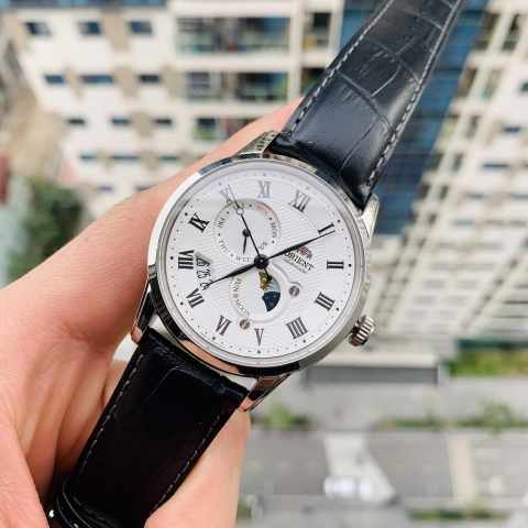 ORIENT SUN AND MOON GEN 3 FAK00002S0 - NAM - KÍNH SAPPHIRE - AUTOMATIC - 42MM
