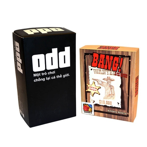 Board Game CBBG12 Combo BANG! & ODD