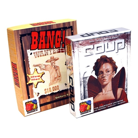 Board Game CBBG13 Combo BANG! & Coup