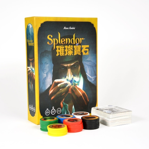 Splendor chip nhựa