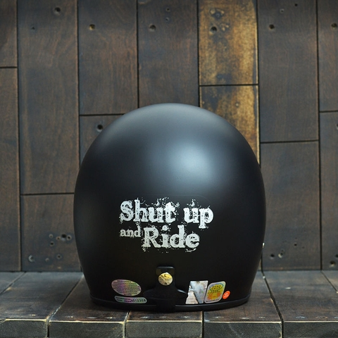 Mũ Bảo Hiểm Andes 111 Shut Up And Ride