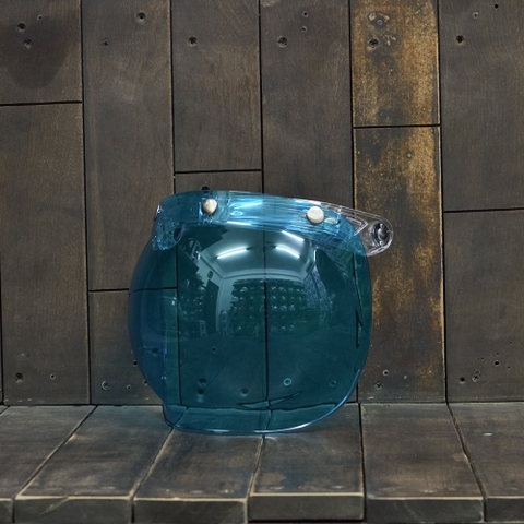 Bulldog Bubble Shield Blue (Flip-up)