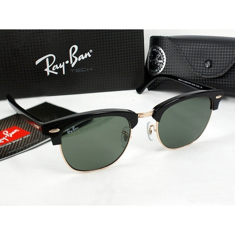 Mắt kính RayBan Clubmaster Aluminum Cao Cấp