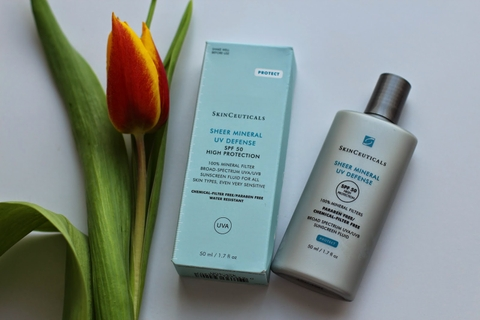 skinceuticals – sheer physical uv defense spf 50 review