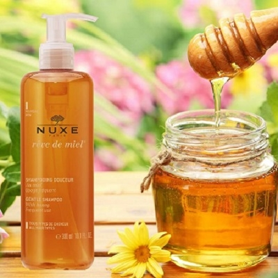 Dầu gội Nuxe Rêve de Miel 300ml review