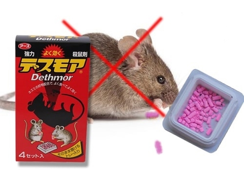 Thuốc viên diệt chuột Dethmor Nhật Bản review