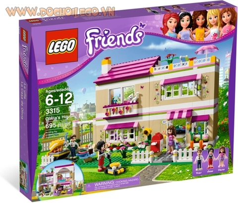 3315 LEGO® Friends Olivia's House