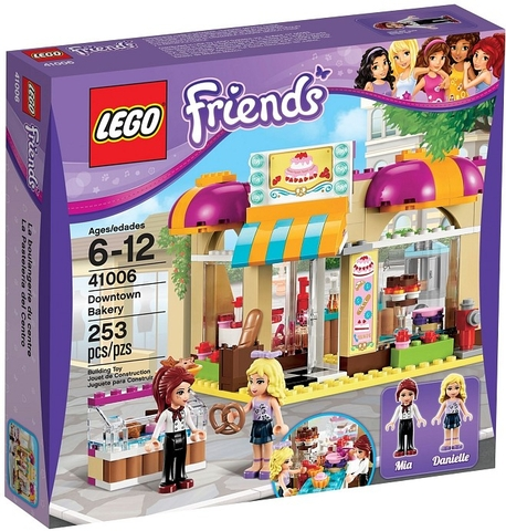 41006 LEGO® Friends Downtown Bakery