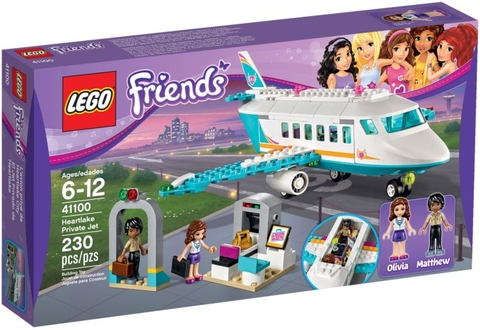 41100 LEGO® Friends Heartlake Private Jet (năm 2015)
