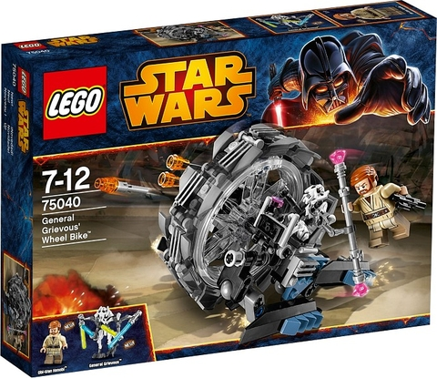75040 LEGO® General Grievous' Wheel Bike