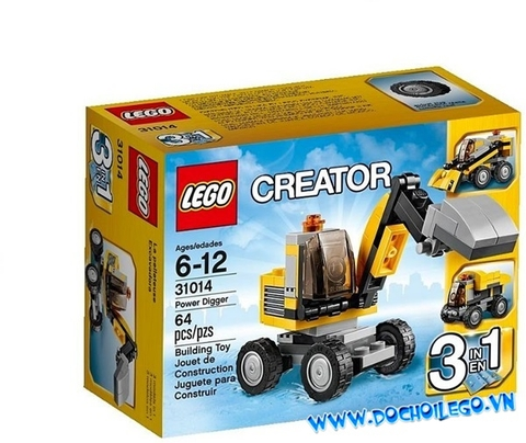 31014 ® Creator Power Digger