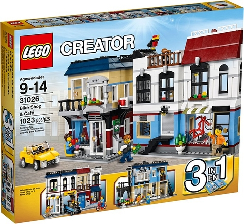 31026 LEGO® Creator  Bike Shop & Cafe