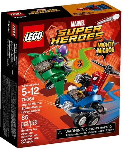 76064 LEGO® Super Heroes Spider-Man vs. Green Goblin
