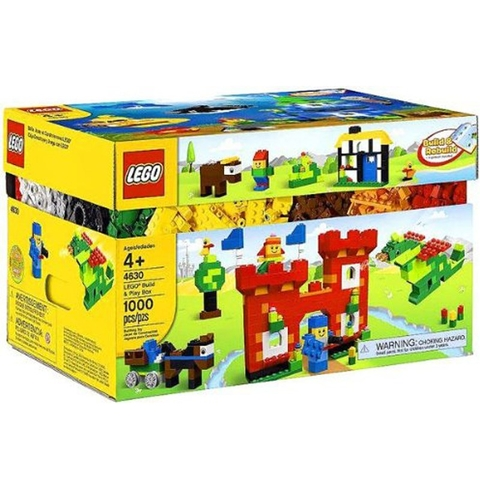 4630 LEGO®Brick and more Build & Play Box