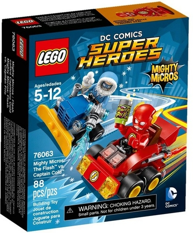 76063 LEGO® Super Heroes The Flash vs. Captain Cold