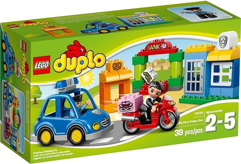 10532 LEGO® My First Police Set