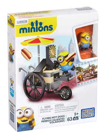 MEGA BLOKS Minions™ Flying Hot Dogs