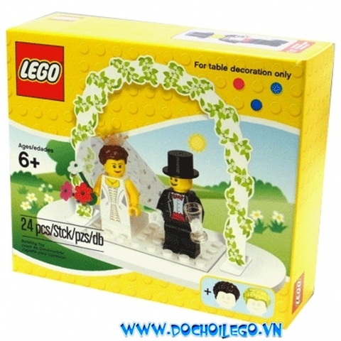 853340 LEGO® Minifigure Wedding Favour Set