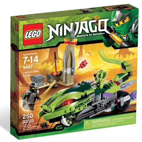 9447 LEGO Ninjago Lasha's Bite Cycle