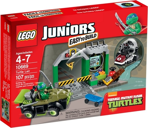 10669 LEGO® Juniors Turtle Lair