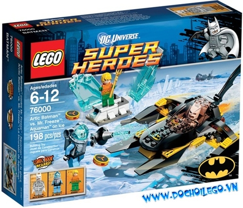 76000 LEGO® Super Heroes Arctic Baan vs Mr Freeze