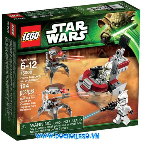 75000 LEGO® SW Clone Troopers vs. Droidekas