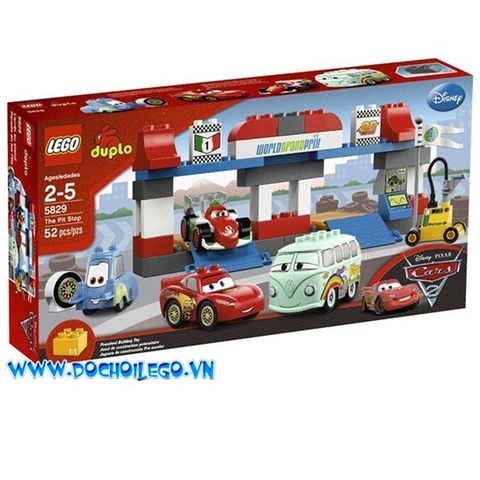 5829 LEGO® Cars The Pit Stop