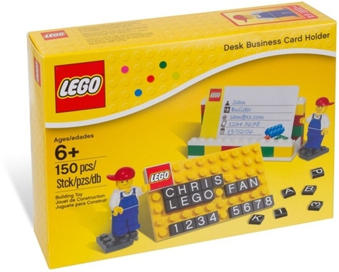 850425 LEGO® Desk Business Card Holder