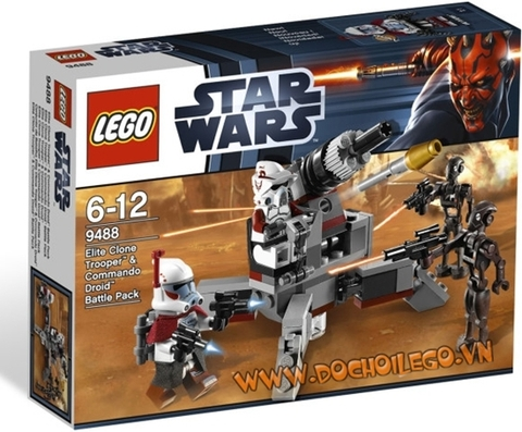9488 LEGO® Elite Clone Trooper&Commando Droid B