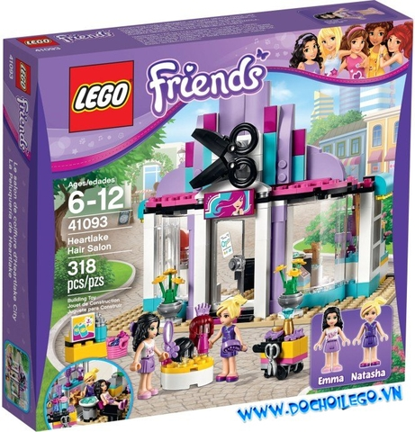 41093 LEGO® FRIENDS Heartlake Hair Salon (năm 2015)