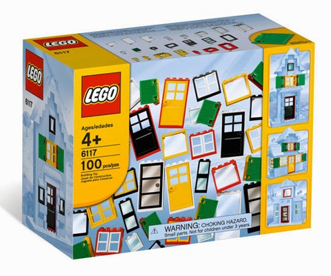 6117 LEGO® Doors and Windows (cửa)
