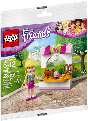 30113 LEGO® Friends Stephanie's Bakery Stand