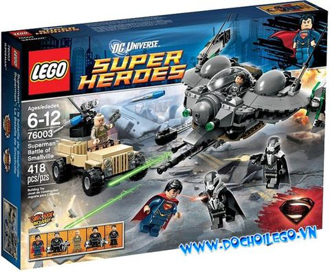 76003 LEGO® Super Heroes Superman : Battle of Smallville