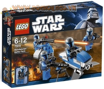 7914 LEGO Star Wars Mandalorian Battle Pack