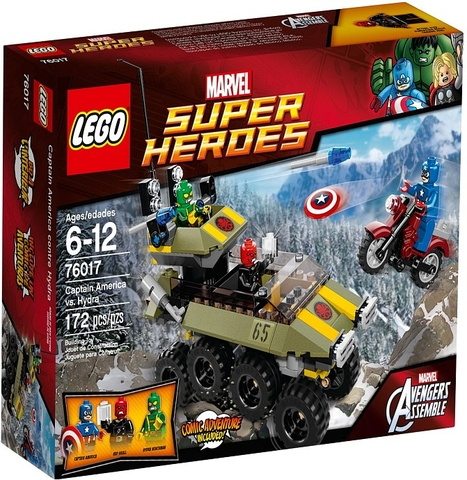 76017 LEGO® Captain America vs. Hydra
