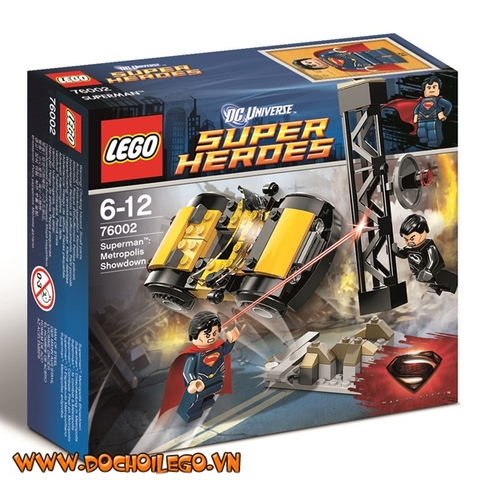 76002 LEGO® Superman Metropolis Showdown