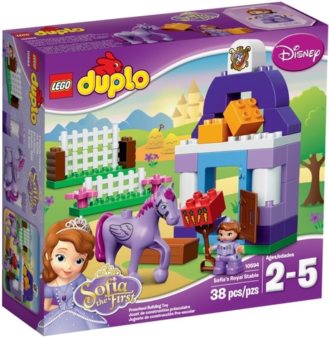 10594 LEGO® DUPLO Sofia the First Royal Stable (năm 2015)