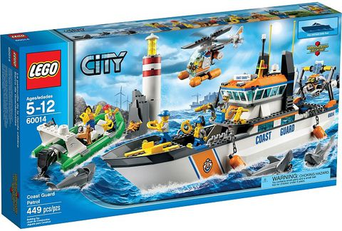 60014 LEGO® Coast Guard Patrol