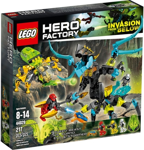 44029 LEGO® QUEEN Beast vs. FURNO, EVO & STORMER