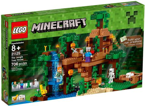 21125 LEGO® Minecraft The Jungle Tree House (new 2016)