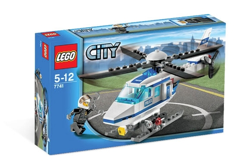 7741 LEGO® Police Helicopter
