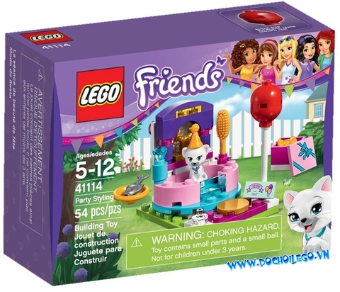 41114 LEGO® Friends Party Styling