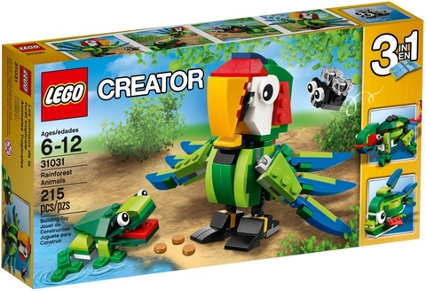 31031 LEGO® CREATOR Rainforest Animals