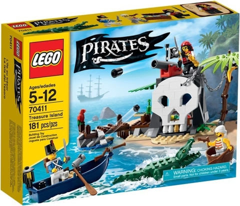 70411 LEGO® Pirates Treasure Island