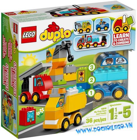 10816 LEGO® DUPLO My First Cars and Trucks