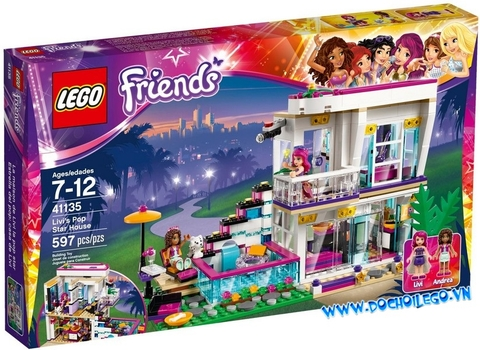 41135 LEGO® Livi's Pop Star House