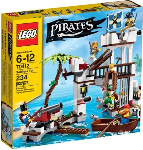 70412 LEGO® Pirates Soldiers Fort